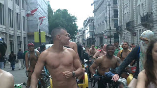 London 2015 Naked Bike Ride (Warning Contains Full Frontal Nudity) width=