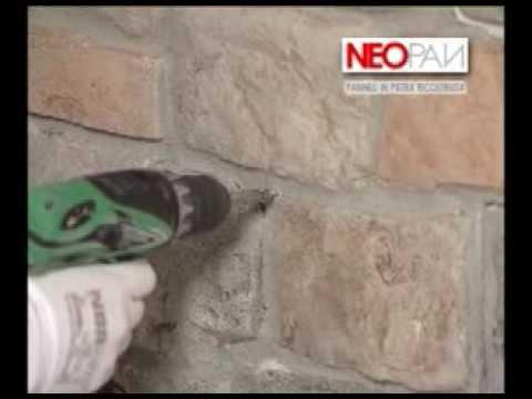 Come rivestire un muro con i pannelli in finta pietra for Polistirolo finta pietra