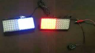 2*70 LED Flashing Blinking Strobe Lights (POLICE FIRE)