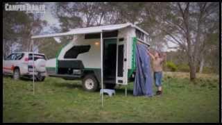 getlinkyoutube.com-Camper Trailer Australia tests the Track Topaz Series 2 for the Off-Road Camper Trailer Awards 2013