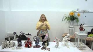 getlinkyoutube.com-Как рождаются игрушки. Игрушки из шерсти Жанны Бугровой. Куклы Светланы Оспищевой Часть 1 из 2