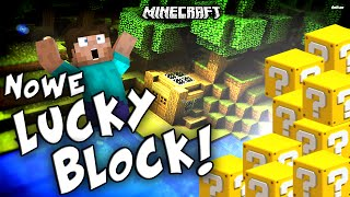 getlinkyoutube.com-NOWE LUCKY BLOCK W MINECRAFT?! - Lucky Block Red