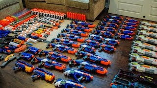 getlinkyoutube.com-AWESOME NERF ARSENAL!
