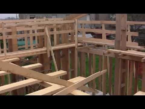 Come costruire una casa di paglia fai da te mania - Costruire casa da soli ...