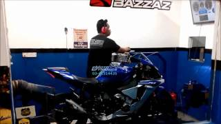 getlinkyoutube.com-Yamaha YZF R1 2015 AR Racing - Bazzaz ZFI - Motodynamics Technology Malaysia