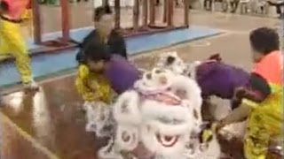 getlinkyoutube.com-2007 Hong Kong Lion Dance Troupe, CHINA. 香港张强舞狮 張強國術總會