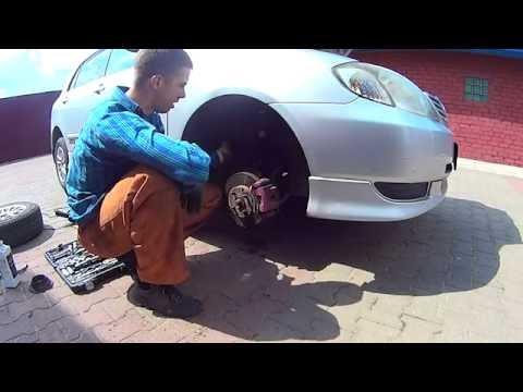 Замена стойки (амортизатор) Toyota Corolla