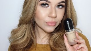 getlinkyoutube.com-Marc Jacobs Coconut Primer + Remarcable foundation review | KatEyedTv