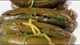 getlinkyoutube.com-Stuffed Cucumber Pickles - طرشي خيار محشي ومدبس / المطبخ العراقي