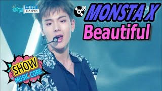 [Comeback Stage] MONSTA X - Beautiful, 몬스타엑스 - 아름다워 Show Music core 20170325