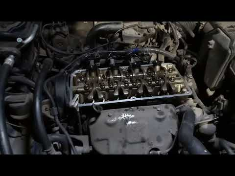 Раскоксовка двигателя и замена маслосъемных колпачков ч.3