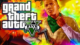 GTA 5 - Broken Controller Rage Quit!  (GTA 5 Funny Moments and Races!)