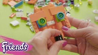 Let's Decorate Mia's Backpack! - LEGO Friends - Life Hacks