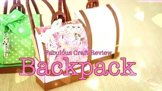 getlinkyoutube.com-DIY - Fabulous Craft Review:  Doll Backpack - Handmade - Doll - Crafts