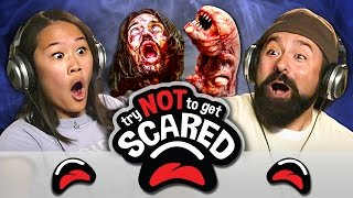 getlinkyoutube.com-TRY NOT TO GET SCARED CHALLENGE (REACT)