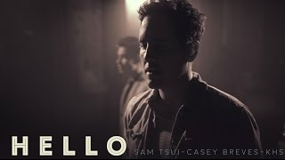 getlinkyoutube.com-Hello (Adele) - Sam Tsui, Casey Breves, Kurt Schneider Cover