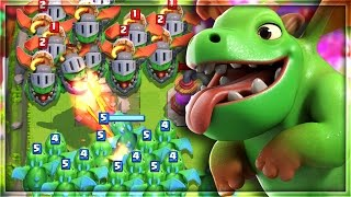 "getlinkyoutube.com-20 ""INFERNO DRAGONS"" vs 20 ""BABY DRAGONS"" in Clash Royale! (THE RESULTS Will Shock YOU!!)"