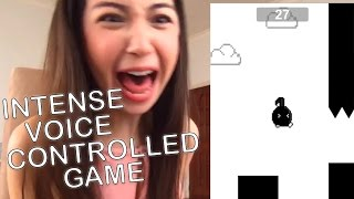Intense Voice Controlled Game