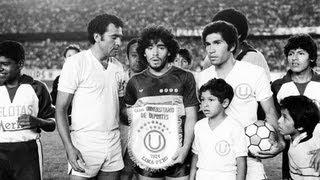 Universitario vs Boca Juniors - Amistoso 1981 [Partido Completo]
