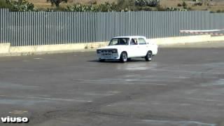 getlinkyoutube.com-Concentracion de clasicos de coches Exhibicion de derrapes Campos de Nijar (2/2)