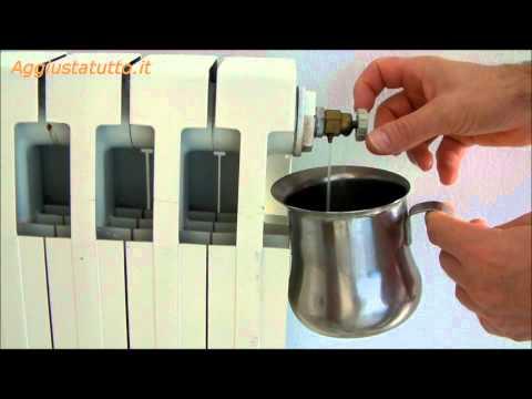 Come eliminare una bolla d 39 aria da un termosifone tutto for Valvole caloriferi