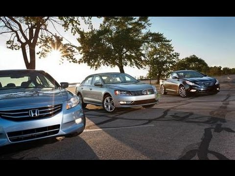 2012 Volkswagen Passat vs. 2011 Honda Accord, 2012 Hyundai Sonata - Comparison Test - Car and Driver