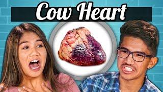 getlinkyoutube.com-TEENS vs. FOOD - COW HEARTS