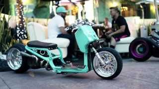 getlinkyoutube.com-DORBYWORKS custom Honda Ruckus Minty version 2