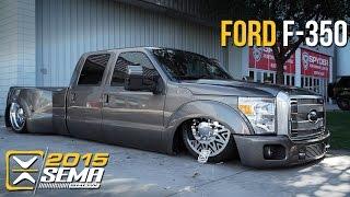 getlinkyoutube.com-SEMA 2015 | Ford F-350 | Jason Mathewes