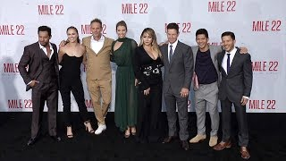 """""""Mile 22"""" World Premiere Main Cast Arrivals"""
