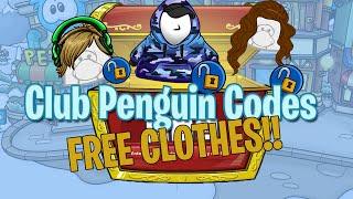 getlinkyoutube.com-Club Penguin Codes for Clothes 2016