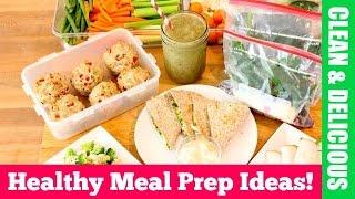 getlinkyoutube.com-Clean Eating Healthy Meal Prep for The Week