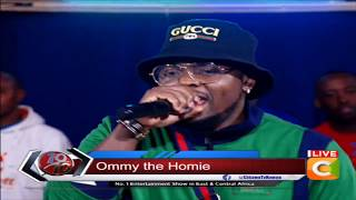 Yanje live, Ommy Dimpoz performs new song ft. Seyi Shay #10Over10 width=