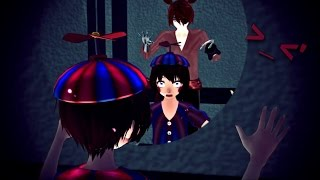 (MMD x FNAF) The scariest thing in the world