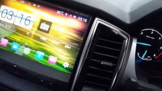 "getlinkyoutube.com-Ford Ranger XLT จอ 9"" Android สุดล้ำ โดย Tum Mirage Audio 081-734-8370"