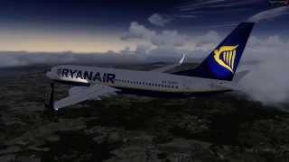 getlinkyoutube.com-[Prepar3D v3 ] High Details Test - Landing to Rome with 737 NGx