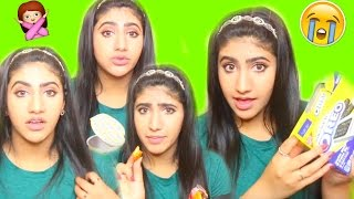 بنت عربية تجرب حلويات أمريكية غريبة !! | TRYING AMERICAN CANDY