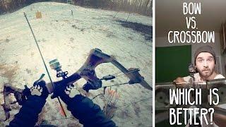 getlinkyoutube.com-Is a Bow or Crossbow Better? | Long Range Weapons