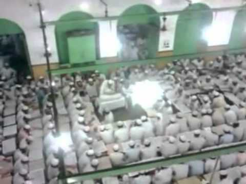 An amazing view of Darul hadith of Darul Uloom Deoband at Khatm e Bukhari
