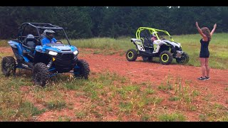getlinkyoutube.com-Polaris RZR XP Turbo VS Can-Am Turbo