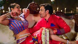 Dinesh Lal Yadav & Kajal Raghwani - Best Romantic Scene....!!!! width=