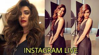 Krishma Tanna Instagram LIVE Stream 2018   Bollywood Shaukeen