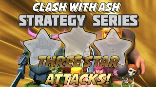 getlinkyoutube.com-Clash Of Clans | 5 Must Watch 3 Star Attacks (TH9 and TH10)