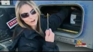 getlinkyoutube.com-Ice Road Truckers  Lisa Kelly Keep on Truckin