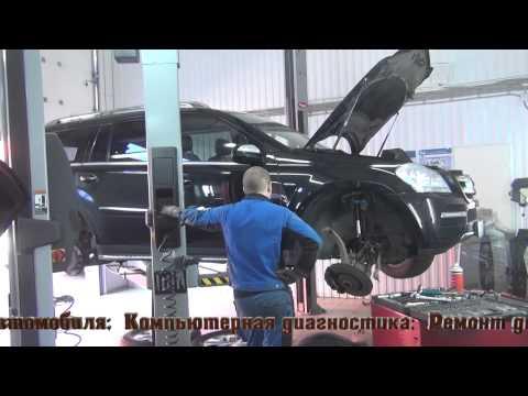 Замена правого переднего амортизатора на Mercedes Benz GL 350