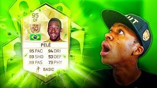 getlinkyoutube.com-OMG PELE IN A PACK !!!! TOP 5 FIFA 16 PACK OPENING REACTIONS