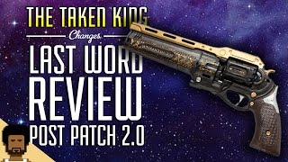 getlinkyoutube.com-Destiny The Taken King  - The Last Word Post Patch 2.0 Review
