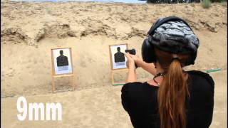 getlinkyoutube.com-Shooting the M&P Shield 40 and 9mm BACK TO BACK and M&P Pro 9mm with Todd Cotta
