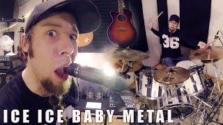 getlinkyoutube.com-Ice Ice Baby (metal cover by Leo Moracchioli)