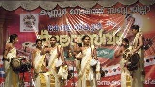 getlinkyoutube.com-Panchavadyam girls